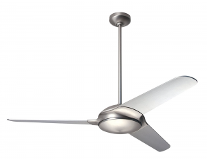 Modern Fan Company FLO-MN, Flow Matte Nickel 52 inch Ceiling Fan with 1991 Blades