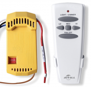 Flower Angel 18R/ST6 Universal Ceiling Fan Remote Control Kit