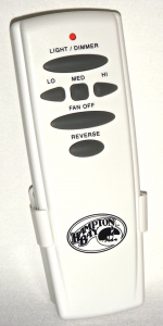 Hampton Bay UC7078T With Reverse Ceiling Fan Remote Control